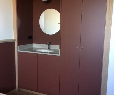 Inrichting kamers voor bezinning